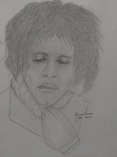 Jimi Hendrix por Vinna